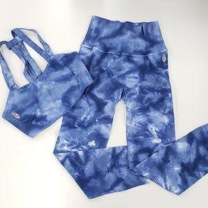 New Free People Movement On The Radar Blue Set M/L